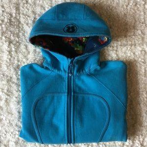 Lululemon sky blue scuba hoodie